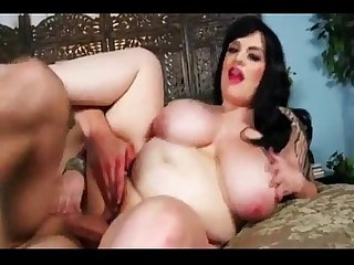 German curvy tattooed cum eater