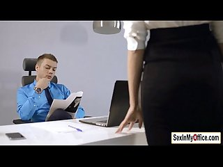 Secretary sheri fucks boss overtime