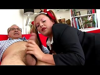 Older british guy fucked by slut in pigtails grave