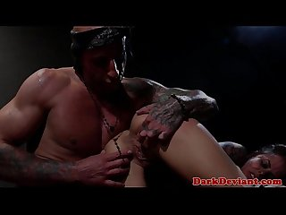 Brandy Aniston fucked brutally by cruel dom