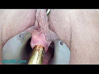 Extreme Peehole Play Fucking with Vibrator and Tortured pisshole with Screw