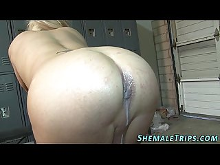 Trans sluts ass creampied