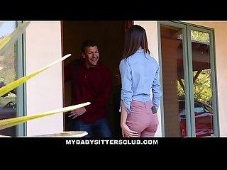 Mybabysittersclub skinny small tit teen fucked hardcore