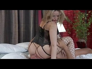 Gorgeous blonde Alexis texas plays with a big dick