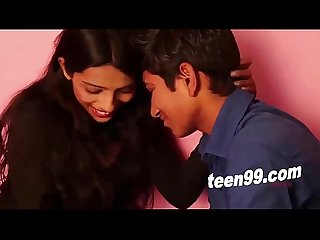 Teen99 com teen indian girl influencing an innocent boy to made sex