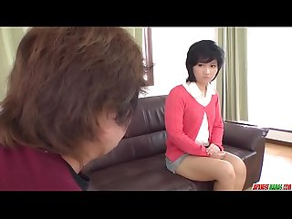 Saki umita butt fucked during casting by horny man more at japanesemamas com