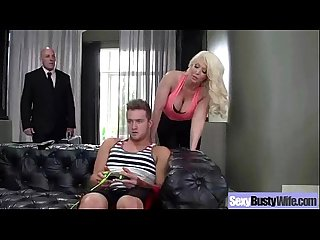 Mature wife with round big tits love sex on tape alura jenson movie 02