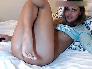 Model simacheva E dildo more at supcams com