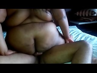 Ssbbw wifey riding me in 3sum