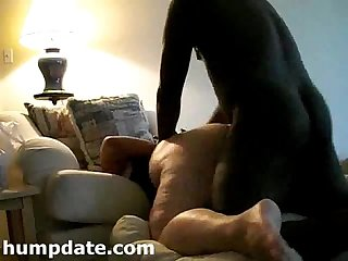 Horny white bbw gets fucked doggystyle by bbc