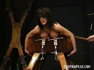 Amateur bdsm and big tit of sado masochistic english slavegirl Danii