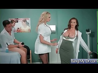 Slut patient briana banks Nikki benz seduce doctor in hard sex act video 08