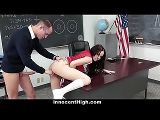 Innocenthigh popular cheerleader fucks bullied nerd