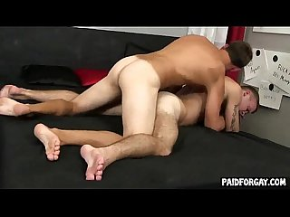 Straight guy gets fucked anally for some money