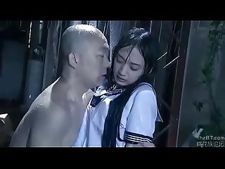 Asian schoolgirl forced to fuck by old man watch more on www j slut ml