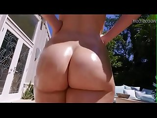 Unbelievable huge white ass