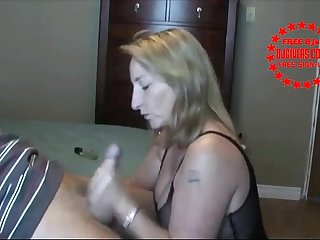 Gilf hungry for for cock as usual - BJgivers.com