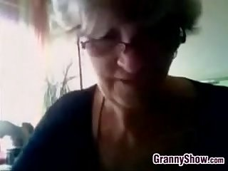 Grandma shows off her breastsbusty grandma sh
