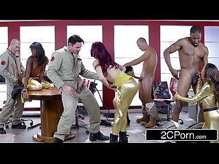 Ghostbusters orgy ana foxxx Monique alexander Nikki benz romi rain