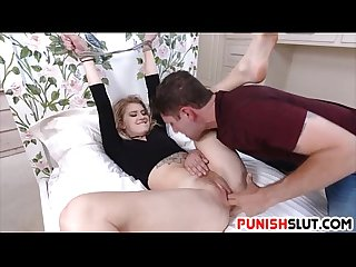 Sexy arya faye disciplined by neighbor Penis for disturbing the peace
