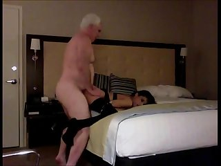 Grandpa Fucking a Slutty Little Teen