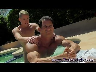 Boy sex masturbation gay gang movies Daddy Poolside Prick Loving