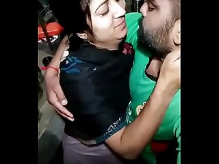 Punjabi Bhabhi Kissing scene ..say video banona