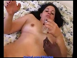 White hedonist wife gets distroid by twoo black /99dates