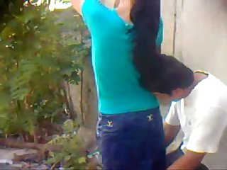 Nepal girl fucked from back in public