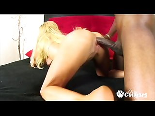 Taylor Wane Wraps Her Pussy Lips Around A Black Dick