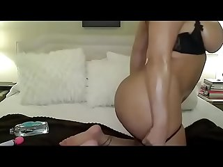 Hottest big natural boobs girl plays nude cam