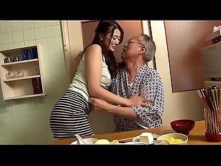 Father forced daughter in law Tease ( Full Scene =..
