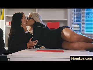 MILF Ceo's having sex in the office