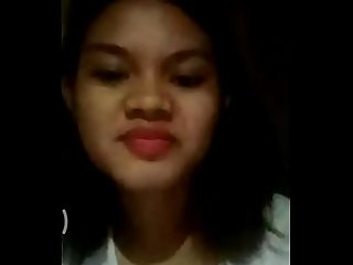 Philippines girl see my Masturbating and encourage