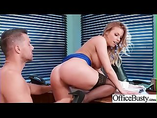 Hard Sex In Office With Big Tits Slut Girl (Britney Amber) video-06