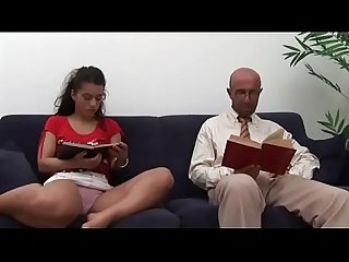 Why studying if you have daddy's cock all to yourself?