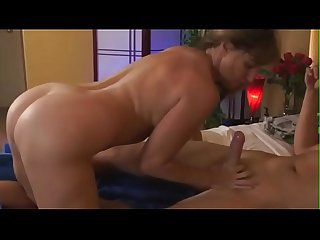 Hot Milf-vicious stepson looks at his mother-in-law when she changes