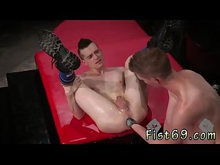 Teen gay boys fisted and anal fisting boys Matt dives in tongue first