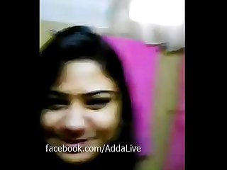 Dhaka Banglalink officer Suraiya shows her at selfie video