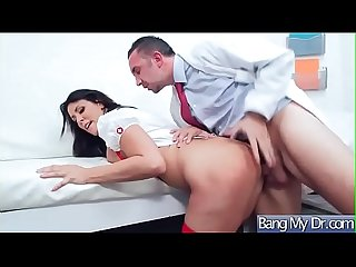 Hard Adventure Sex With Doctor And Patient (Reagan Foxx) video-24
