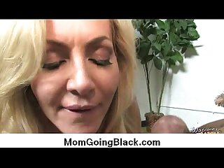 Interracial cougar porn from Watching My Mom Go Black 20