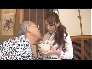 Father-in-law fucks his daughter-in-law English subtitles Full..