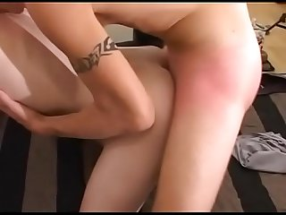 She's new at work and she must test her cock's colleague