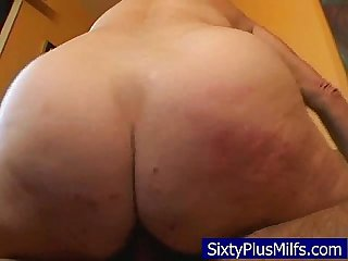 Granny seriously cumming