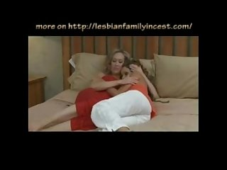 Lesbian mother seduces her daughter